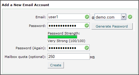 Doteasy Knowledge Base How To Create Pop Email Account